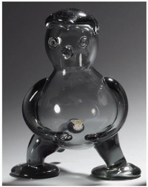Glass Sculpture by Hugo GEHLIN