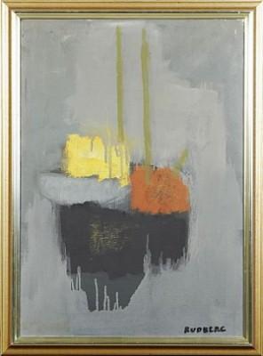 Båt I Dimma by Gustav RUDBERG