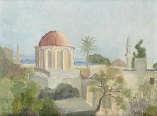 Utsikt Från Rhodos by Christian BERG