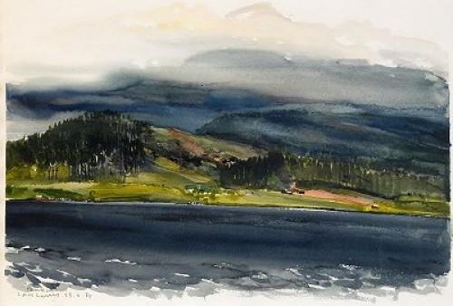 Landskap by Lars LERIN