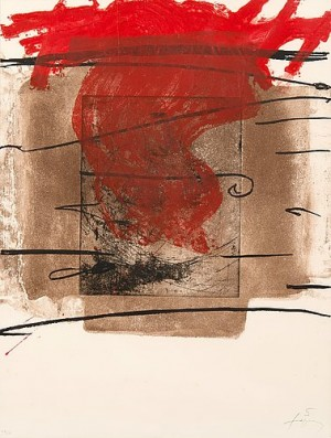 Foc by Antoni TAPIES