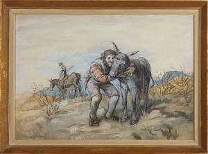 Don Quixote Och Sancho Panza by Robert HÖGFELDT