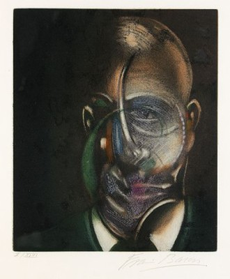 Portrait Of Michel Leiris by Francis BACON