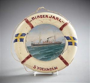 Fartygsporträtt Av Svenska Passagerarångaren