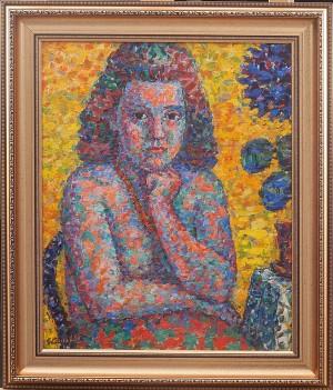 Sittande Kvinna by Gustaf ARNOLDS