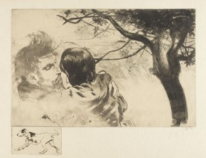 Sous Les Figuiers (unter Den Feigenbäumen) by Louis Auguste Mathieu LEGRAND