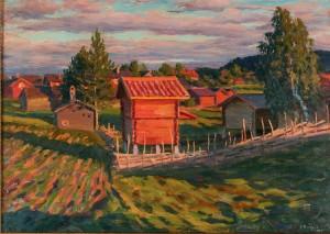 Landskapsvy by Karl Enoch RINGNÉR