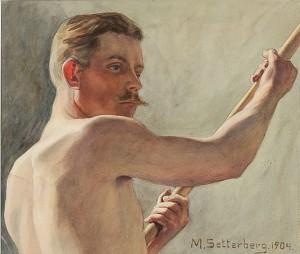 Mansstudie by Maja SETTERBERG