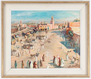 Marknad I Marrakech by Miloud BOUKERCHE