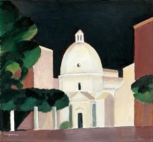 Italiensk Kyrkkupol by Olle NYMAN