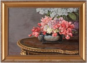 Blomsterstilleben by Johan KROUTHÉN