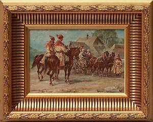 Rastande Soldater by Wladyslaw CHMIELINSKI