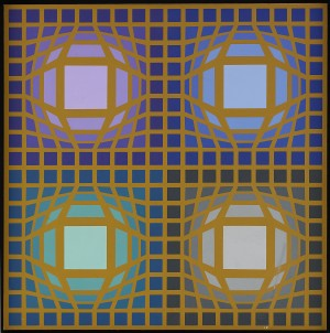 Arc-or by Victor VASARELY