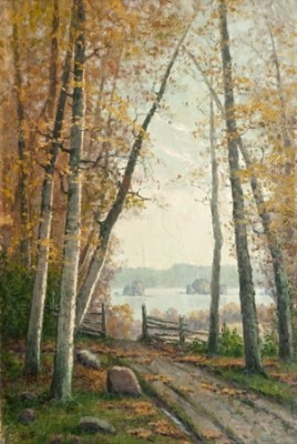 Autumn Day by Ellen FAVORIN