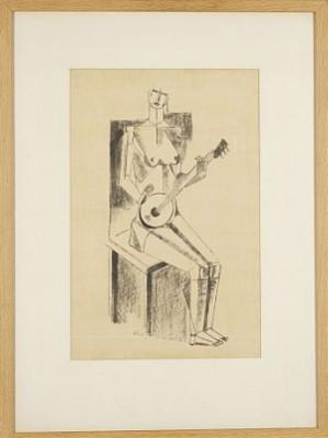 Figurkomposition by Otte 'Otte S.' SKÖLD