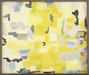 Abstrakt Komposition by Nejat DEVRIM