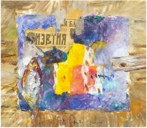 Still Life by Vladimir Nikolaevich NEMUKHIN