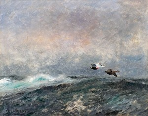 Flying Eiders by Mosse STOOPENDAAL