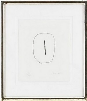 Concetto Spaziale, From Dix Eaux-fortes by Lucio FONTANA
