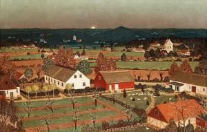Motiv Från Arild by Oskar BERGMAN