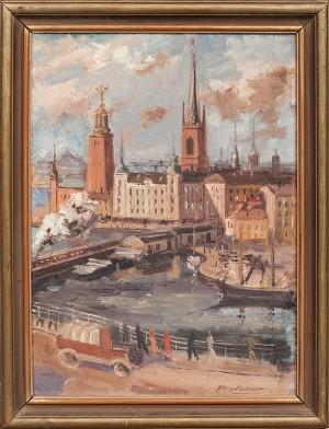 Motiv Från Stockholm by Fredrik HENKELMANN