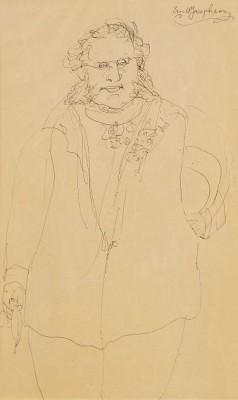 Mansfigur by Ernst JOSEPHSON