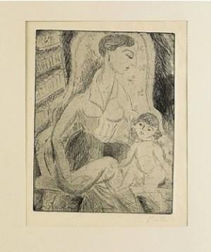 Mor Och Barn by Sigrid HJERTÉN