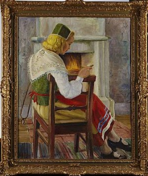 Läsande Kulla by Mats MASON