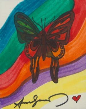Butterfly by Andy WARHOL