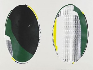 Mirror Series: Mirror #8 by Roy LICHTENSTEIN