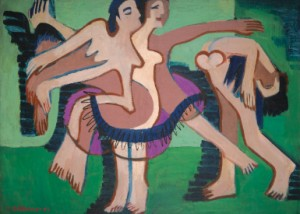 Tanzgruppe (dance Group) by Ernst Ludwig KIRCHNER