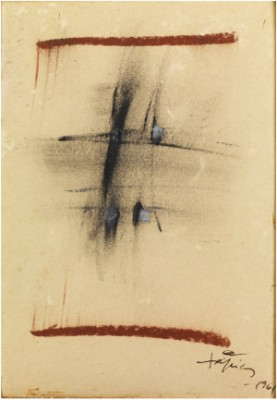 Untitled by Antoni TAPIES