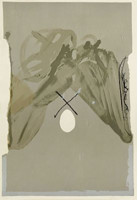 Untitled, Folder Of Seven Prints (pl. 4) by Antoni TAPIES