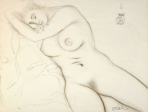 Nude by Salvador DALI