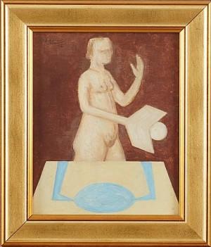 Figurstudie by Wilhelm FREDDIE