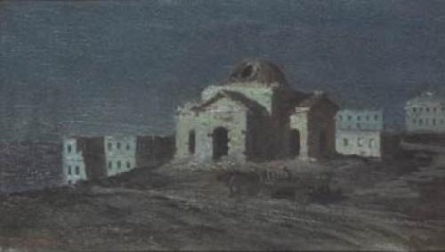 Månskensnatt över Sevastopol by Gavril Pavlovich KONDRATENKO