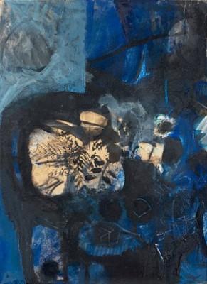 Noir Et Bleu by Antoni CLAVÉ
