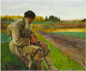By The Wayside by Nikolai Petrovich BOGDANOV-BELSKY