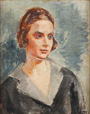 Ingrid Bergman by Birger SIMONSSON