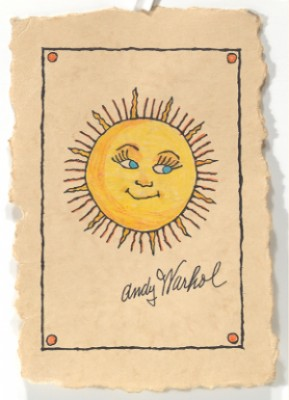 Smiling Sun by Andy WARHOL