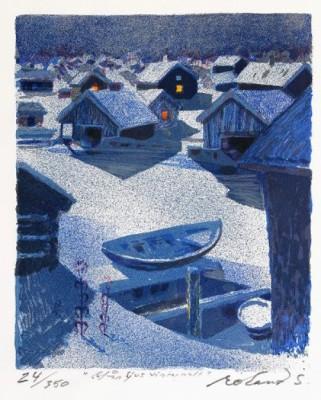 Månljus Vinternatt by Roland SVENSSON