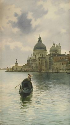 Gondoljär I Venedig by Alberto PROSDOCIMI