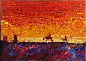 Don Quijote by Maria BOCZEWSKA