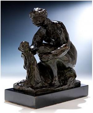 La Petite Laveuse by Pierre Auguste RENOIR