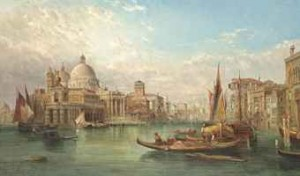 The Grand Canal, Venice by Alfred POLLENTINE