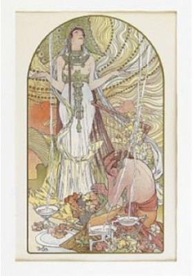 Incantation by Alphonse MUCHA