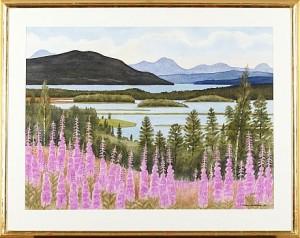 Kultsjön Från Klingefjäll by Anders GULLBERG