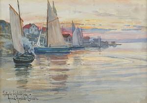 åstols Fiskeläge by Anna GARDELL-ERICSON