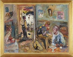 Café I Edsele I by Eric HALLSTRÖM