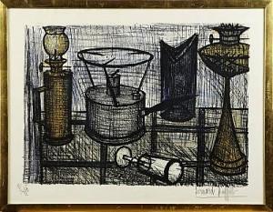 La Lampe à Pétrole by Bernhard BUFFET